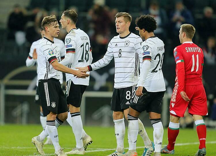 Đức chưa bao giờ vắng mặt tại Euro từ năm 1972 đến nay. Ảnh: BeIN Sports.