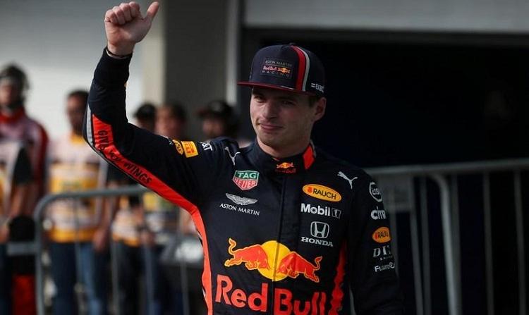 Verstappen lần thứ hai giành pole trong sự nghiệp. Ảnh: Reuters.