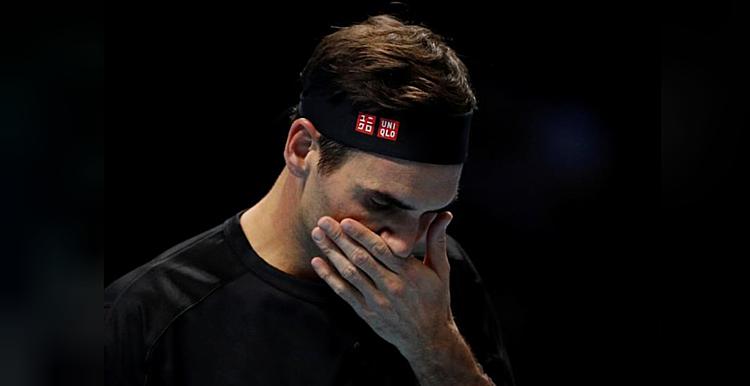 Federer bỏ lỡ 11 trong số 12 break-point có được. Ảnh: Reuters.
