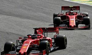 Binotto: 'Va ch?m gi?a Vettel và Leclerc th?t ng? ng?n'
