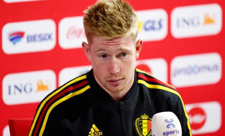 De Bruyne là cầu thủ quan trọng nhất của hàng tiền vệ Bỉ. Ảnh: Reuters