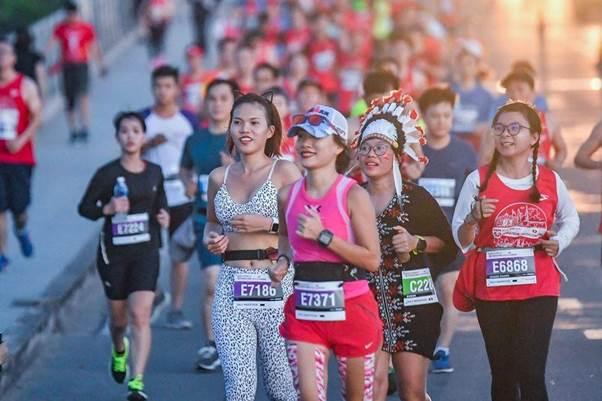 Lần đầu tiên có hạng mục giải Marathon Cosplay tại  Giải Marathon Quốc tế Tp.HCM 2019