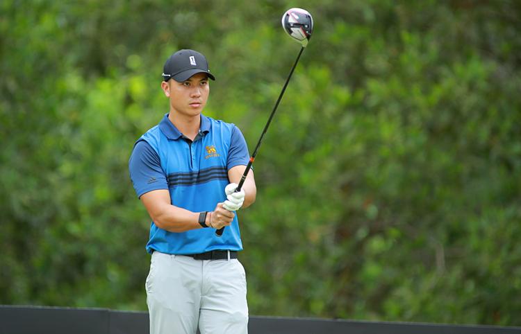 Trần Lê Duy Nhất duy trì vị thế golfer số một Việt Nam với những kết quả tốt trong năm 2019.