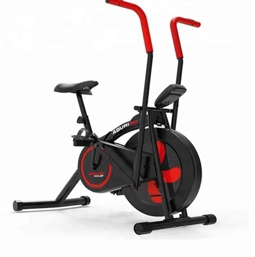 Xe đạp tập thể dục Aguri AGA-205 có thiết kế trẻ trung và hiện đại. Đồng hồ hiển thị quãng đường, vận tốc, thời gian, calo tiêu thụ, nhịp tim. Yên xe có thể điều chỉnh độ cao, thấp cho phù hợp với từng vóc dáng người tập. Bàn đạp thiết kế chống trơn, trượt. Sản phẩm đang giảm 13%, còn 2,09 triệu đồng (giá gốc 2,403 đồng).