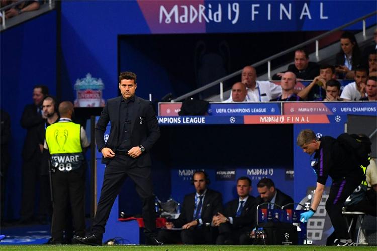 Pochettino làm được điều chưa từng có trong lịch sử Tottenham - đưa đội vào trận chung kết Champions League 2018, tại Madrid năm ngoái. Ảnh: AFP.