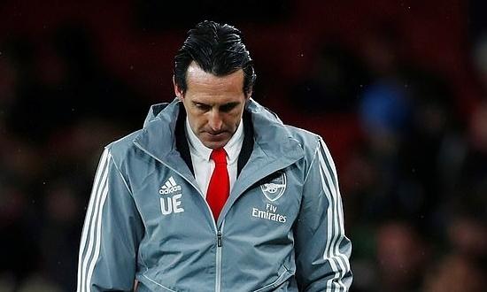 Emery rời Arsenal sau một năm rưỡi làm việc. Ảnh: Reutes.