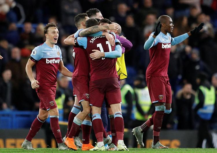 West Ham xứng đáng có chiến thắng. Ảnh: Reuters.