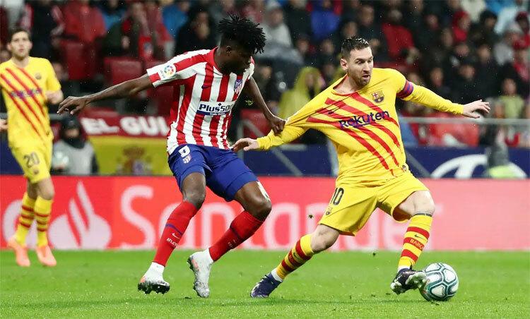 Hàng thủ Atletico chỉ chịu thua Messi, người biết cách tỏa sáng ở thời điểm quyết định.