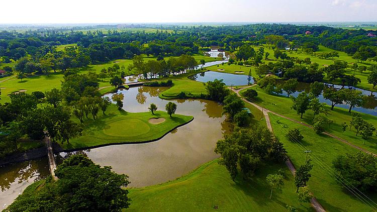 Một góc sân Luisita - nơi tổ chức môn golf tại SEA Games 30.Ảnh: Luisita.