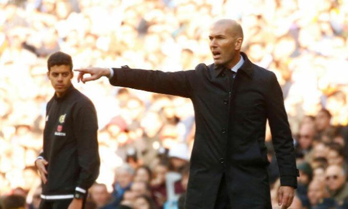 Real của Zidane đối mặt với không ít khó khăn về lực lượng. Ảnh: Reuters