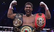 Joshua đòi thành công 4 danh hiệu quyền Anh hạng nặng