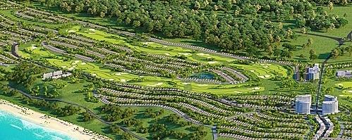 Cụm sân Golf 36 lỗ tiêu chuẩn quốc tế tại NovaWorld Phan Thiet.