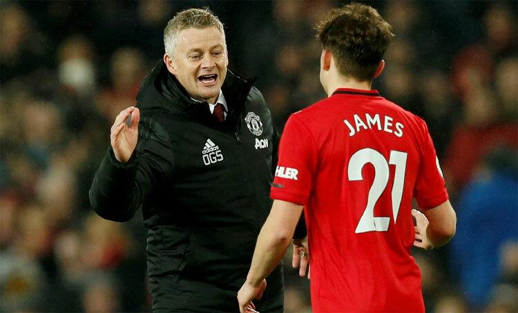 Man Utd chỉ mất 20 triệu USD để mua James về cho Solskjaer. Ảnh: Reuters