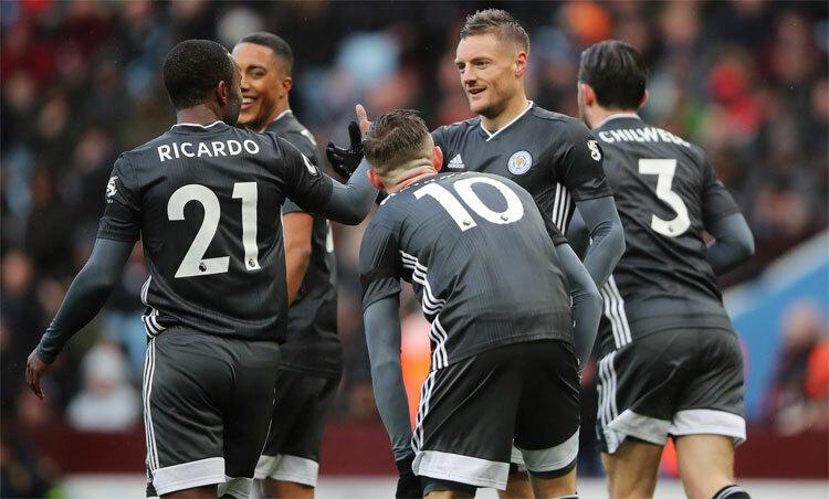 Leicester đang chơi hay không kém gì mùa vô địch 2015-2016. Ảnh: Reuters