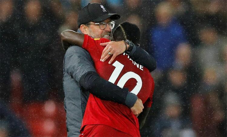Hai cá nhân có công lớn nhất đằng sau những chiến thắng của đội đầu bảng Ngoại hạng Anh. Ảnh: Reuters