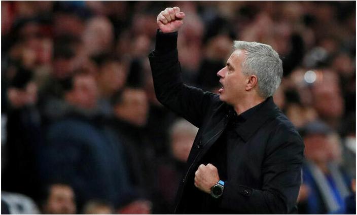 Mourinho đang gặp nhiều thuận lợi trên cương vị HLV Tottenham. Ảnh: Reuters