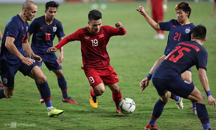 Việt Nam xếp trên Thái Lan 19 bậc. Ảnh: Đức Đồng