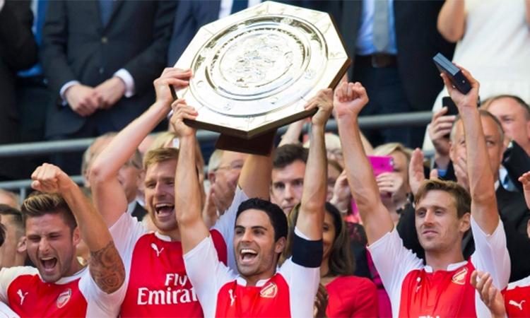 Arteta từng là đội trưởng Arsenal và chơi bóng ở Emirates 5 năm đến khi giải nghệ. Ảnh: Reuters.