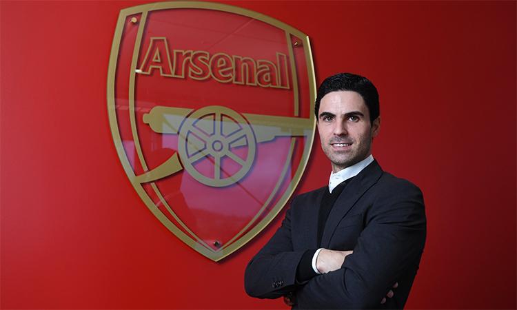 Arteta ra mắt tại đại bản doanh Arsenal vào chiều 20/12.