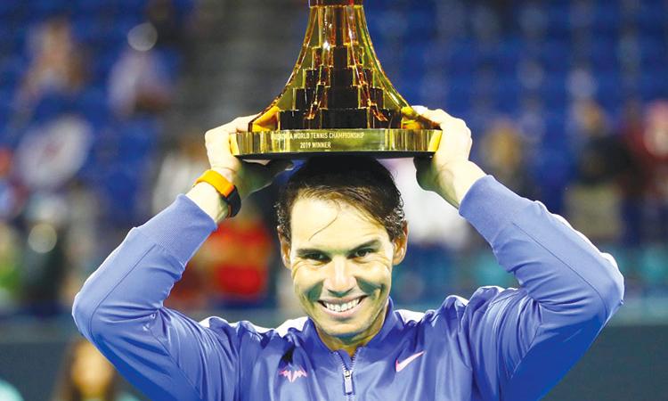 Nadal lần thứ năm lên ngôi tại Mubadala.