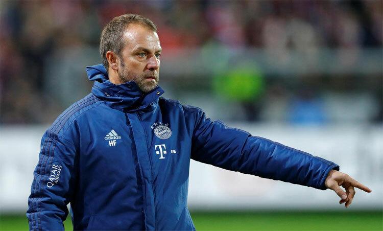 Flick đang đưa Bayern trở lại với thành công. Ảnh: Reuters