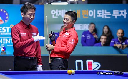 Quốc Nguyện (phải) đạt thành tích cao thứ hai tại giải. Ảnh: Kozoom.