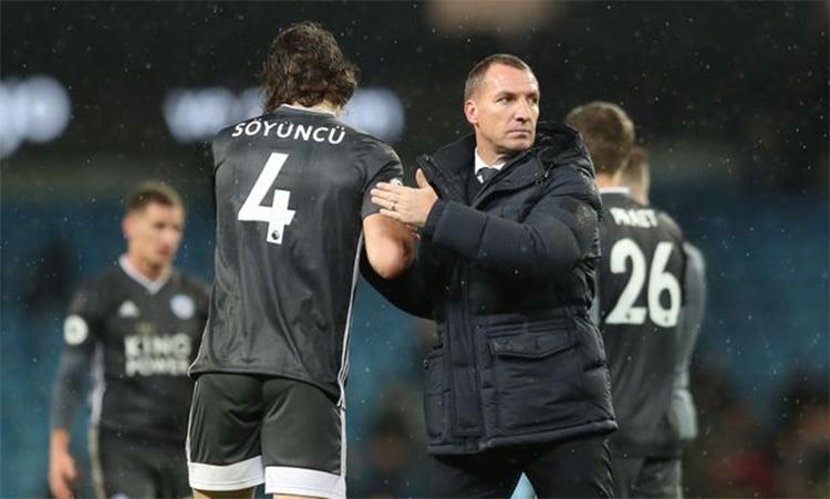 Rodgers muốn Leicester trở lại bằng một trận đấu hay với Liverpool. Ảnh: EPA