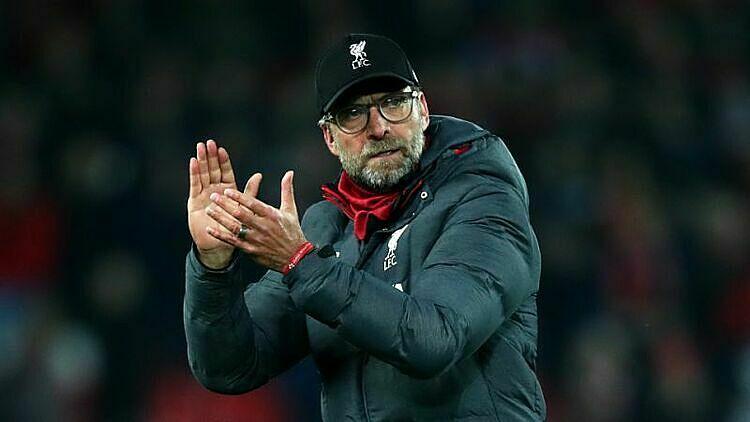 Klopp vẫn thận trọng dù Liverpool nắm lợi thế lớn tại Ngoại hạng Anh. Ảnh: Omni.