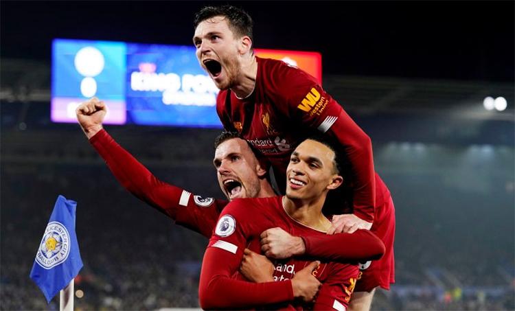 Liverpool hiện nay quá mạnh so với phần còn lại của giải Ngoại hạng. Ảnh: Reuters