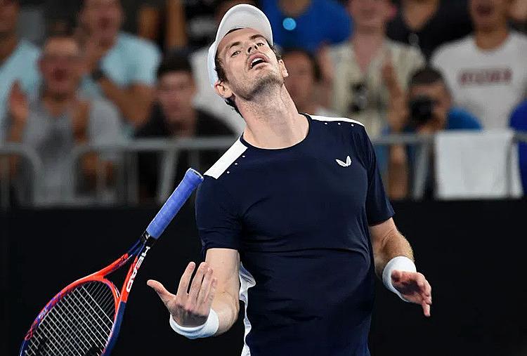 Murray liên tục gặp vấn đề sức khỏe trong những năm gần đây. Ảnh: Reuters.