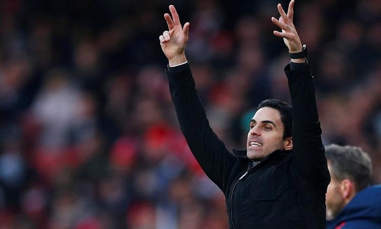 Arteta được kỳ vọng sẽ giúp Arsenal cạnh tranh top hai tại Ngoại hạng Anh. Ảnh: Reuters.