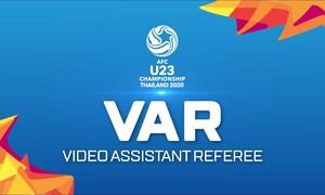 Cơ chế hoạt động của VAR tại giải U23 châu Á 2020