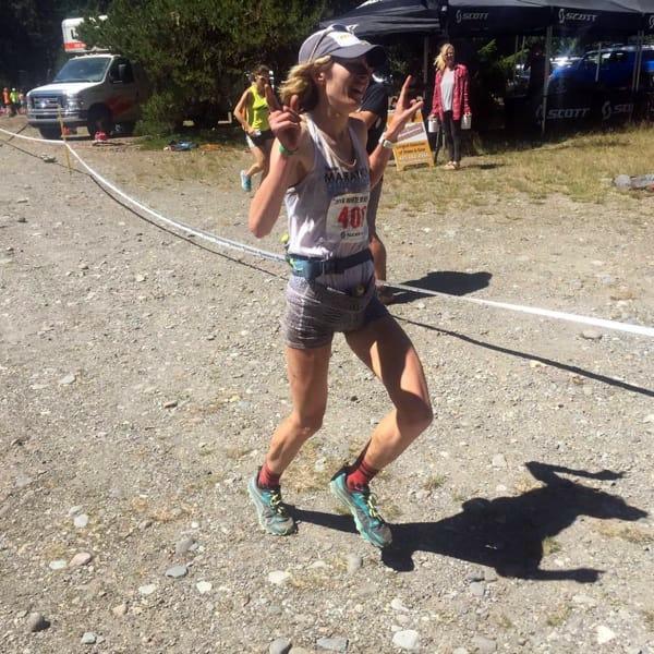 Chức vô địch nữ giải White River 50 giúp Herron nhận ra niềm vui trong lúc chạy đường mòn. Ảnh: Seattle Running Club.