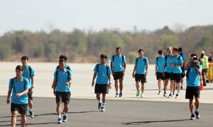 U23 Việt Nam có mặt tại Buriram