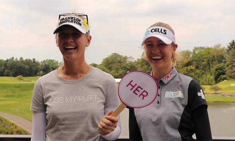 Chị em nhà Korda tích cực nhất trong làng golf nữ, ủng hộ các nạn nhân cháy rừng. Ảnh: LPGA Tour.