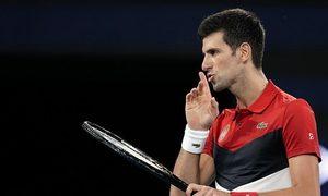 Novak Djokovic 2-0 Cristian Garin