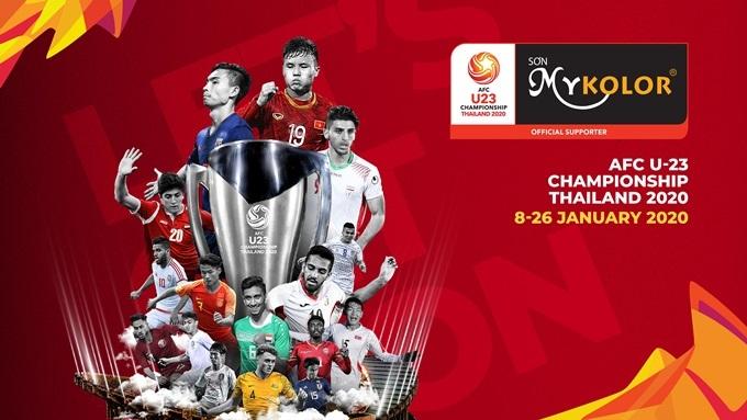 Mykolor quyết định trở thành nhà tài trợ cho giải U23 châu Á 2020.