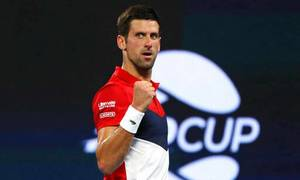 Novak Djokovic 2-0 Rafael Nadal