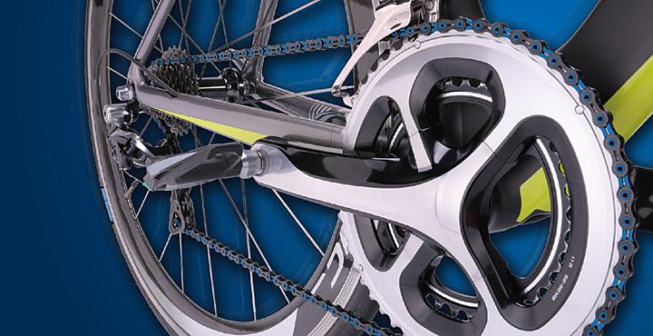 Xích DLC thuận tiện cho người thích đạp xe. Ảnh: Taiwan Excellence.