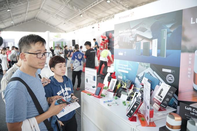 Không gian Trải nghiệm Cuộc sống Tuyệt vời trong thập kỷ mới của nhà tài trợ chính Taiwan Excellence tạo cơ hội cho mọi người được tương tác, chuẩn bị cho cuộc sống thêm tiện lợi và năng động.