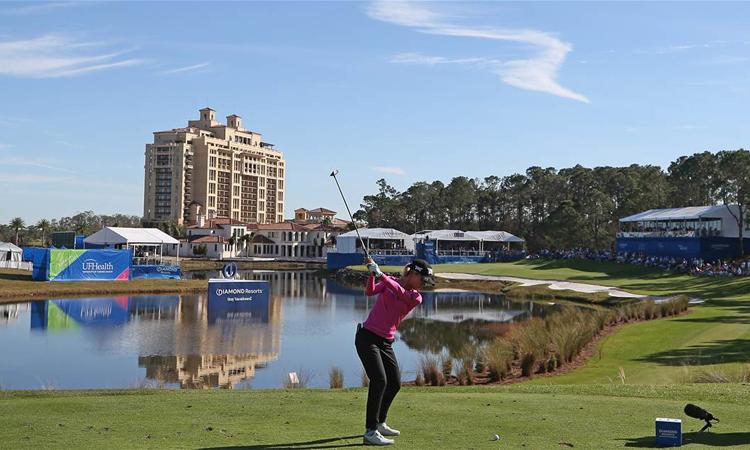 Sân Tranquilo ở Orlando, Florida sẽ là nơi các golfer tranh tài. Ảnh: NextMedia.com.au.