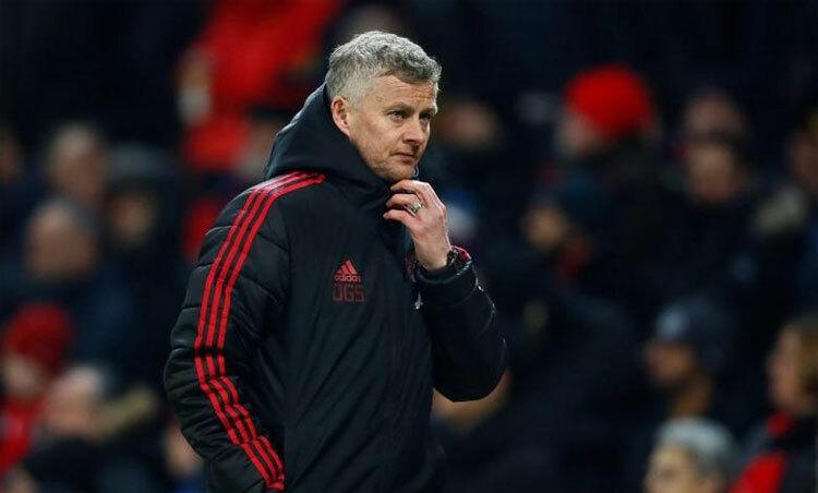 Solskjaer hiểu Man Utd còn thua kém so với những đội dẫn đầu. Ảnh: Reuters