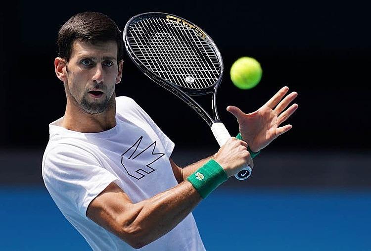 Djokovic từng bảy lần vô địch Australia Mở rộng. Ảnh: EPA.
