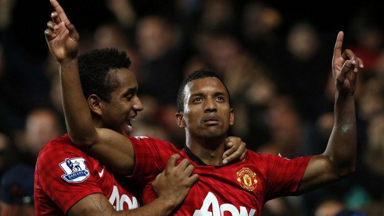 Nani khoác áo Man Utd trong giai đoạn thành công bậc nhất của CLB. Ảnh: Reuters.