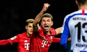 Hertha 0-4 Bayern