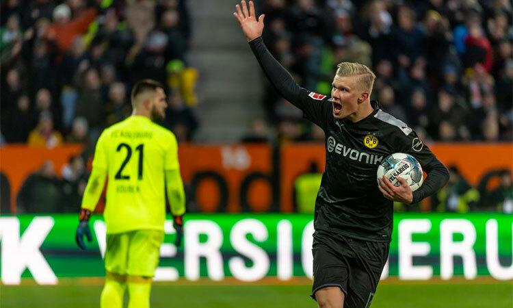 Haaland là chất xúc tác quan trọng nhất, giúp Dortmund thắng ngược. Ảnh: BVB.