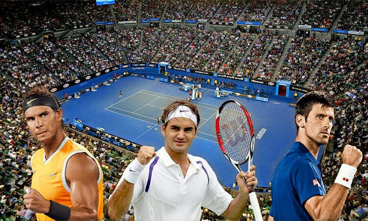 Nadal là người vô địch ở Australia Mở rộng hơn cả trong nhóm bộ ba quyền lực.