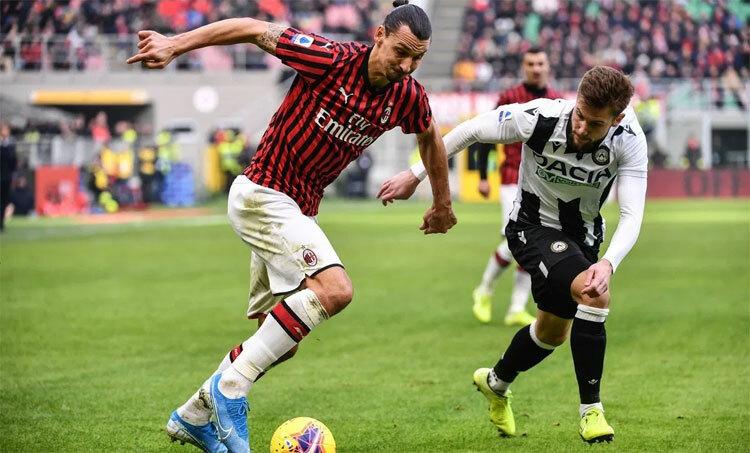 Ibrahimovic có kỷ lục ngay khi vừa trở lại Serie A. Ảnh: Reuters