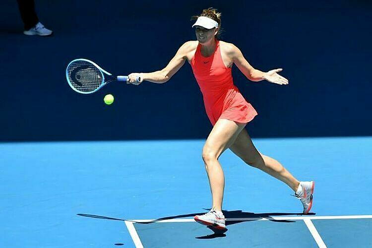 Sharapova từng vô địch Australia Mở rộng 2008. Ảnh: AFP.