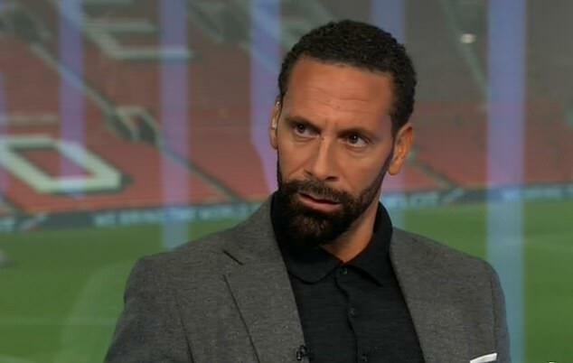 Ferdinand bình luận trên kênh BT Sports về trận Man Itd - Burnley.